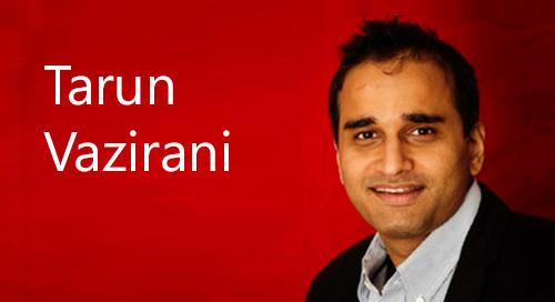 Tarun Vazirani, Edgile's Managing Director - East