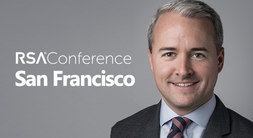Feb 27, 2020 in San Francisco, CA - Brian Rizman speaking at RSA Conference 2020