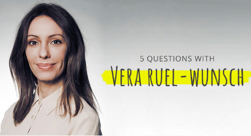 5 Questions with Vera Ruel-Wunsch