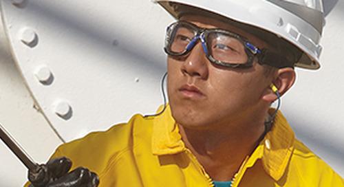 Technologie antibuée. Conçue pour aider les travailleurs à voir plus clair, plus longtemps.