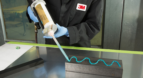 Can you use adhesive as an alternative to rivets and welds?