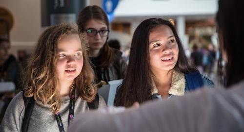 Mentorer les jeunes Canadiens pour le succès des STIM.
