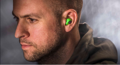 Compact hearing protection for improved situational awareness