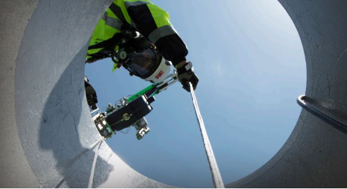 Confined Spaces Get in easily. Get out safely.