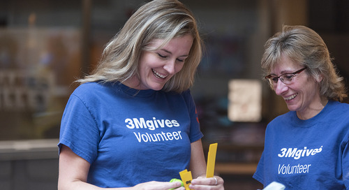 Corporate volunteering: giving back as a sponsored employee.