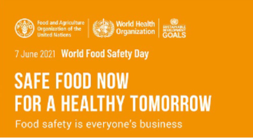 Delivering safe food now for a healthy tomorrow.