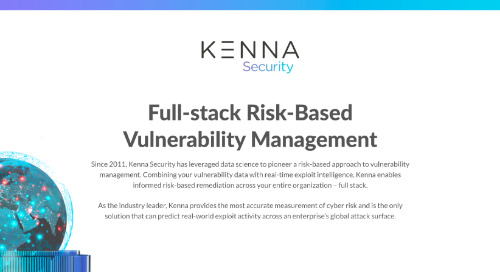 Full-Stack Risk-Based Vulnerability Management