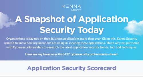 [INFOGRAPHIC] A Snapshot of Application Security Today