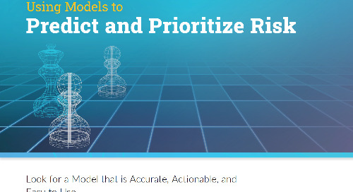 Using Models to Predict and Prioritize Risk