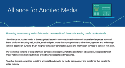 About the Alliance for Audited Media