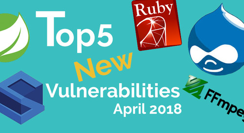 Top 5 New Open Source Vulnerabilities in April 2018