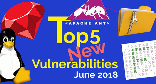 Top 5 New Open Source Vulnerabilities in June 2018