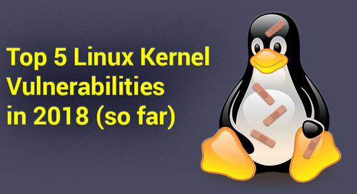 Top 5 Linux Kernel Vulnerabilities in 2018