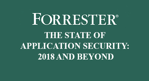 Read Forrester's Report on the State of Application Security in 2018