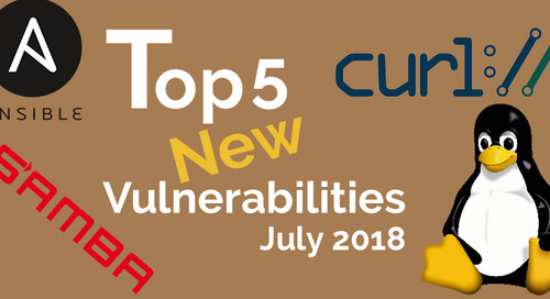 Top 5 New Open Source Security Vulnerabilities in July 2018