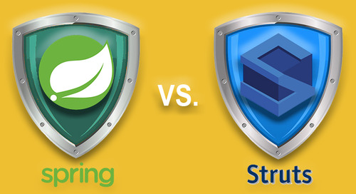 Apache Struts Vulnerabilities vs Spring Vulnerabilities — One of these popular open source projects might be riskier than the other