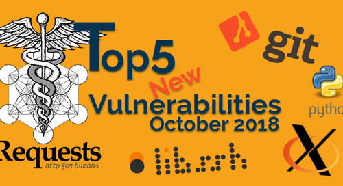 Top 5 New Open Source Security Vulnerabilities in October 2018