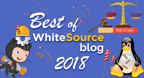 The Best of WhiteSource 2018: Top 7 Reader's Favorites Articles