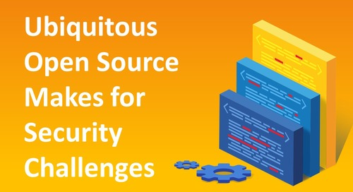 Ubiquitous Open Source Makes for Security Challenges