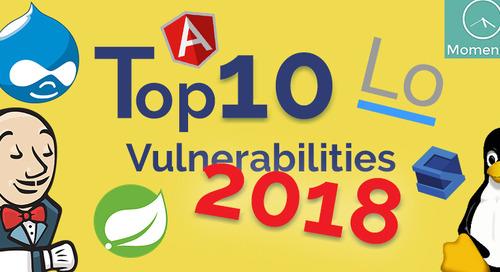 Top 10 New Open Source Security Vulnerabilities in 2018