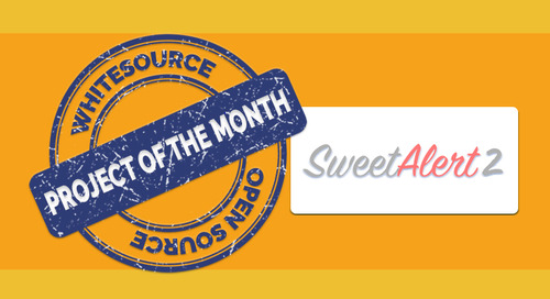 SweetAlert2- WhiteSource's Open Source Project of the Month for January 2019