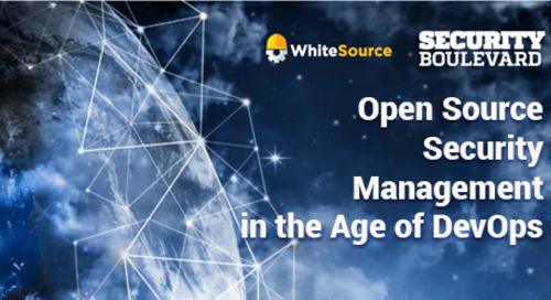 Open Source Security Management in the Age of DevOps