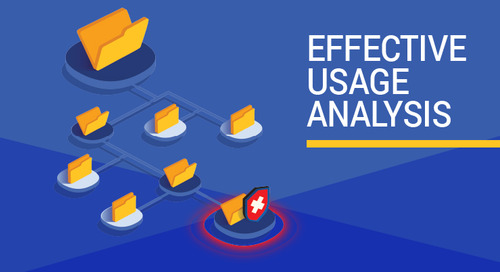 Effective Usage Analysis - Helps Prioritize Vulnerabilities