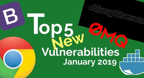 Top 5 New Open Source Vulnerabilities in January 2019