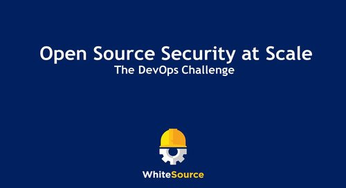 The Devops Challenge: Open Source Security at Scale
