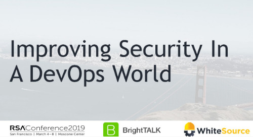 Improving Security in a Devops World
