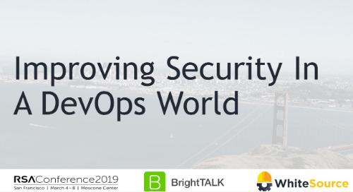 Improving Security in a Devops World