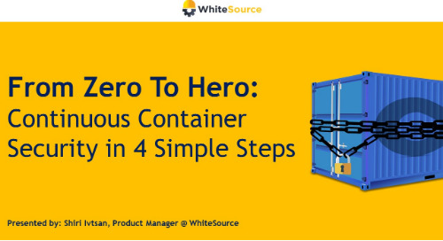From Zero To Hero: Continuous Container Security in 4 Simple Steps