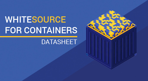 Datasheet: WhiteSource for Containers
