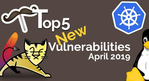Top 5 Open Source Vulnerabilities for April 2019
