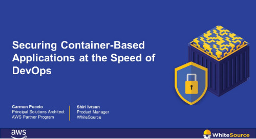 Securing Container-Based Applications at the Speed of DevOps