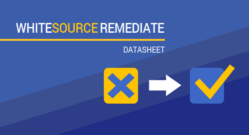 WhiteSource Remediate Datasheet