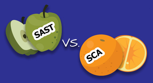 SAST vs. SCA: It's Like Comparing Apples to Oranges