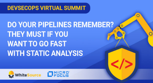 Virtual Summit: Do Your Pipelines Remember? They Must If You Want to Go Fast With Static Analysis