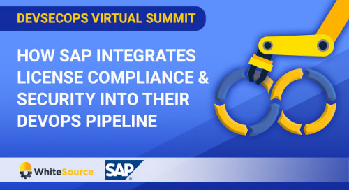 Virtual Summit: How SAP Integrates License Compliance & Security Into Their DevOps Pipeline
