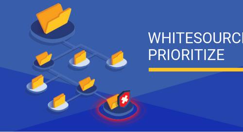 Prioritize Vulnerabilities with WhiteSource Prioritize
