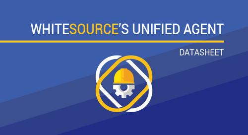 WhiteSource's Unified Agent Datasheet