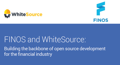 FINOS Building the Back Bone of the Financial Industry with WhiteSource