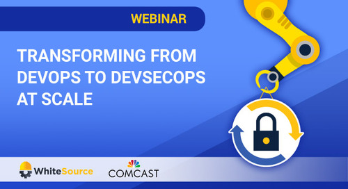 Transforming from DevOps to DevSecOps at Scale