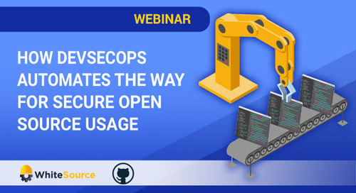 How DevSecOps Automates The Way For Secure Open Source Usage
