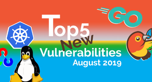 Top 5 New Open Source Security Vulnerabilities in August 2019