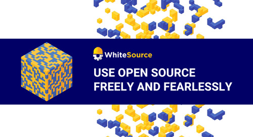 WhiteSource - Use Open Source Freely and Fearlessly