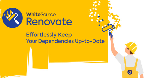 Welcome to WhiteSource, Renovate!