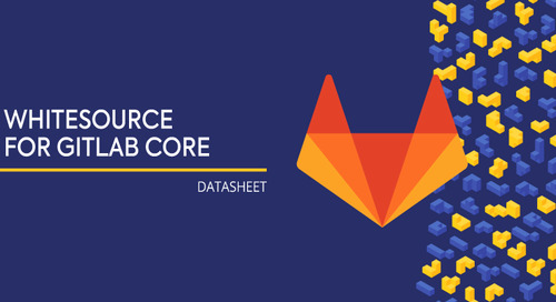 WhiteSource For GitLab Core