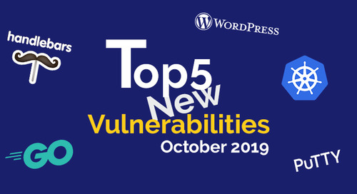 Top 5 New Open Source Security Vulnerabilities in October 2019