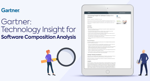 Key Take-aways from Gartner's Technology Insight for Software Composition Analysis Report